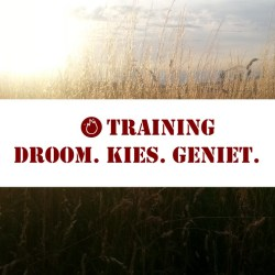 Training DroomKiesGeniet
